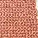 Cranston VIP fabric red stars flowers white background quilting or doll clothes
