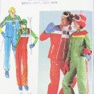 Butterick 5110 misses ski outfit  jacket vest jumpsuit UNCUT size 14 pattern