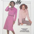 Simplicity 8162 misses stretch knit pullover top & skirt sizes 14 16 UNCUT