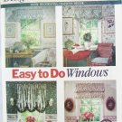 Butterick 6032 window valances jabot curtains several styles UNCUT pattern