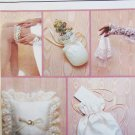 Butterick 4236 wedding bridal pattern gloves pillow garter money bag