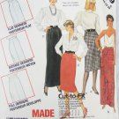 McCall 2759 misses skirt straight or soft pleats sizes 10 12 14 UNCUT pattern