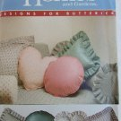 Better Homes Gardens 5 pillow pattern set UNCUT round square heart bolster