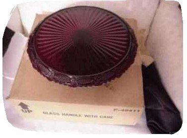 Avon Cape Cod Pedestal Cake Plate