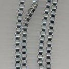 Avon   Cubic Link Necklace- silvertone