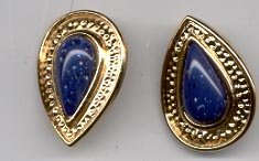 Avon Venetian Style Collection earrings-  Blue