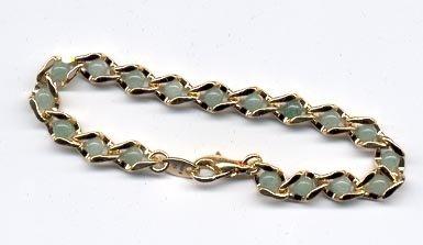 Avon Captured Treasures Bracelet- Aventurine- small