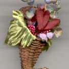 Avon Fall Cornucopia  Pin