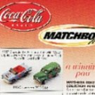 Matchbox Coke 1950's  Coke Collection Vehicles