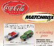 Matchbox Coke 1950's  Coke Collection Vehicles