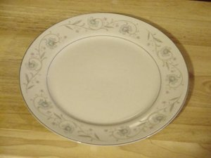 English Garden fine china dinner plate- pattern #1221