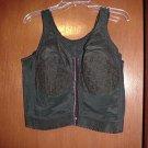 Black Front Closure longline Bra- Size 38D
