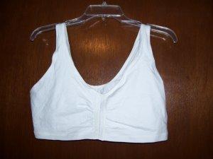 White  Bestform front closure Bra- Size 44BCD