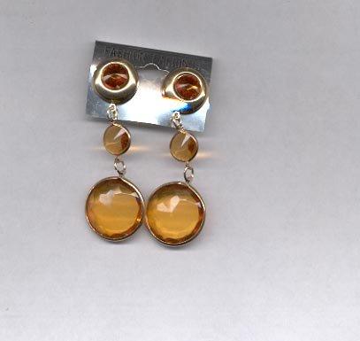 Dangle pierced earrings (# 10)