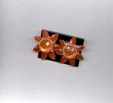 Star clip on earrings (#125)