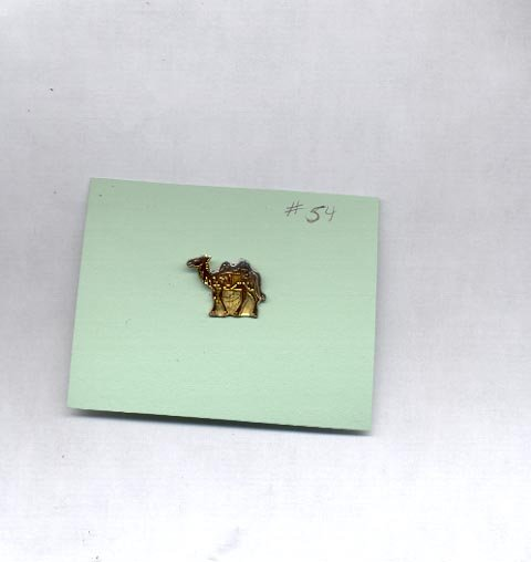 Camel  hat (lapel ) pin (#54)