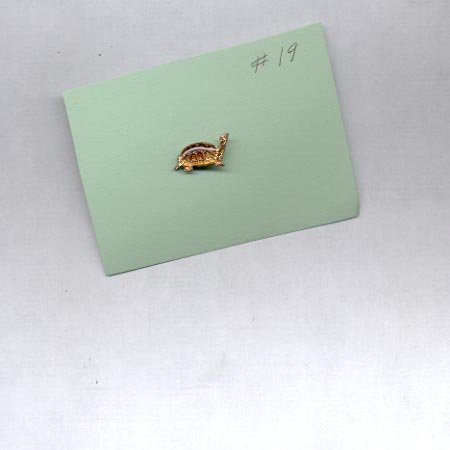 Turtle  hat (lapel ) pin (#19)