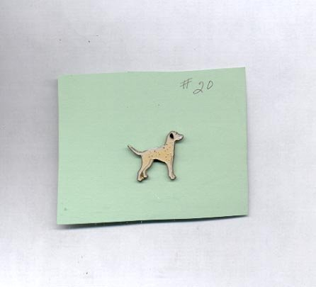 Spotted Dog  hat (lapel ) pin (#20)