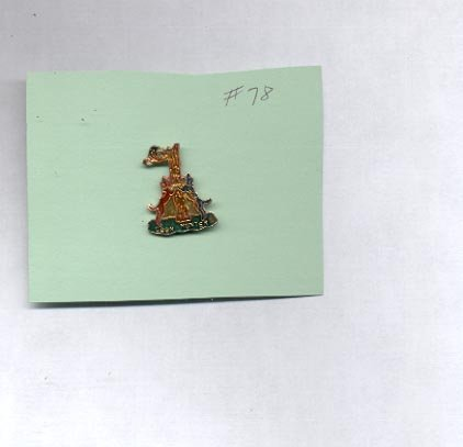 Coon Hunter  hat (lapel ) pin (#78)