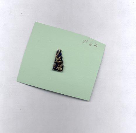 Delaware  hat (lapel ) pin (# 62)