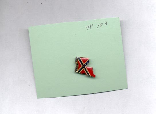 Louisiana   hat (lapel) pin (# 103)