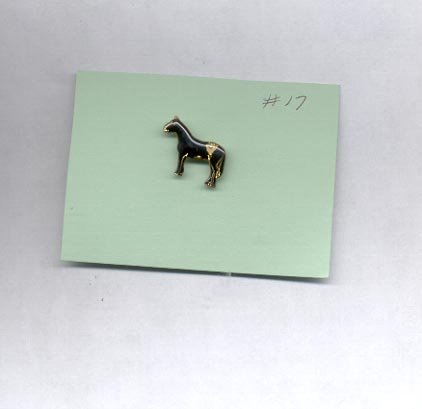 Horse   hat (lapel) pin (# 17)
