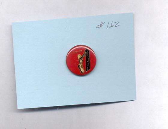 Blondie  hat (lapel) pin (# 162)