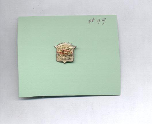 Cowboy Cadillac  hat (lapel ) pin (#49)