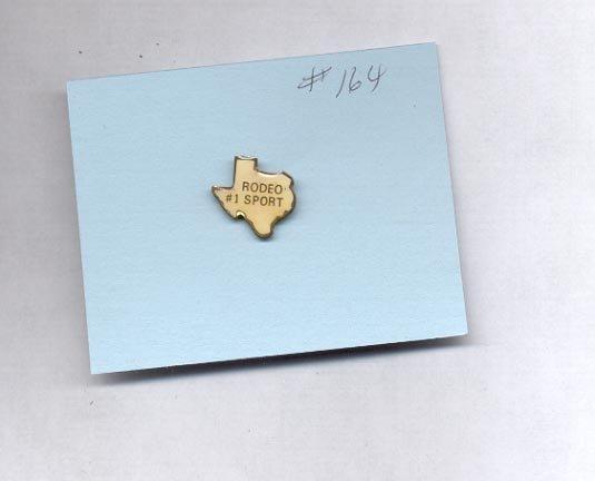 Rodeo # 1 Sport  hat (lapel ) pin (#164)