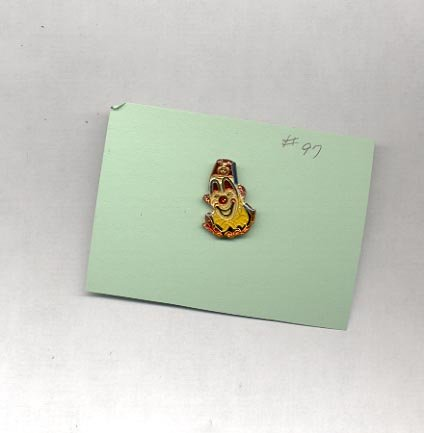 Clown   hat (lapel ) pin (# 97)