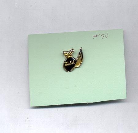 Music   hat (lapel) pin (#70)