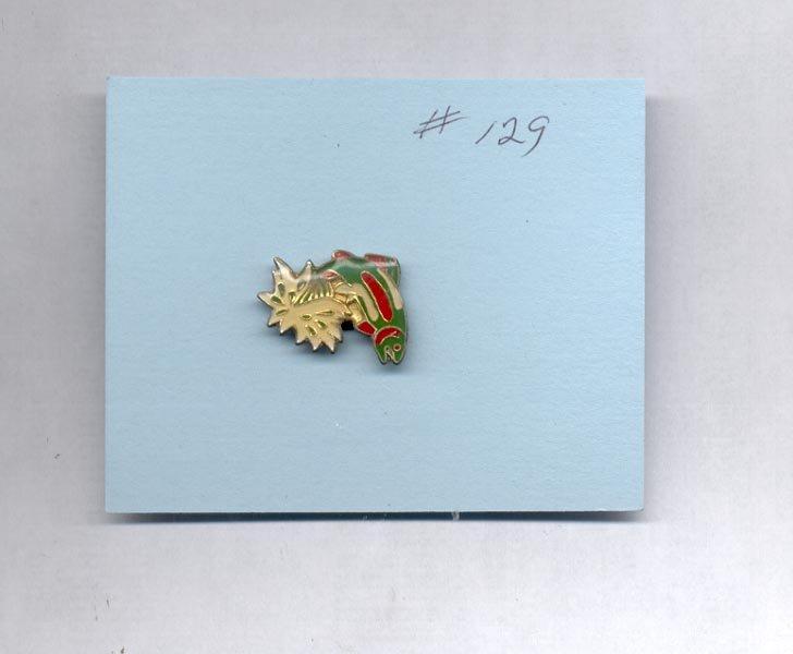 Fish  hat (lapel) pin (#129)