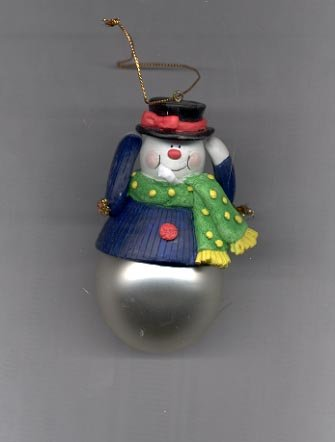 Avon  Santa and Company Ornament- Snowman