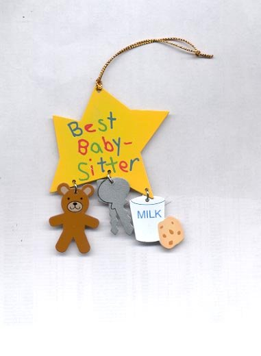Avon You're Special Ornament-  Baby Sitter