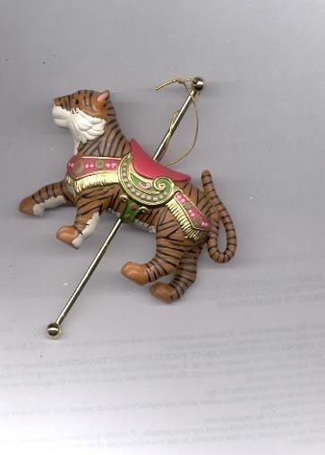 Avon Carousel Ornament- Exotic Tiger