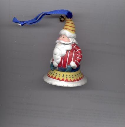 Avon Santa Tune Ornament- Bell