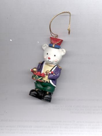 Avon Strike Up the Band Teddy Ornament- Drummer