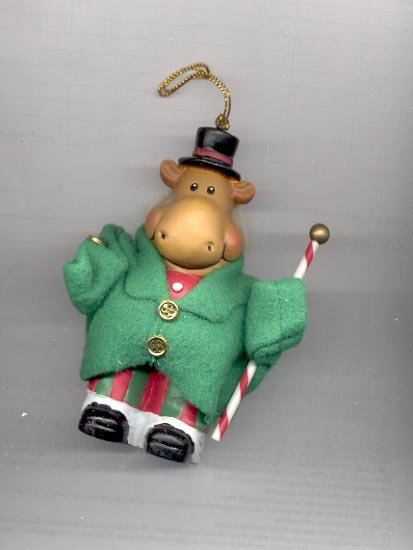 "Avon ""Deer Ones' Ornament- Mr. Reindeer"