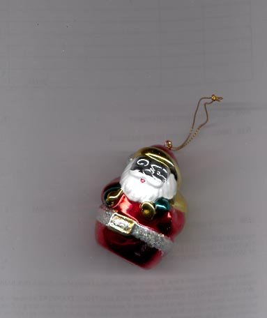 Avon Brilliant Festive Ornament-  Santa