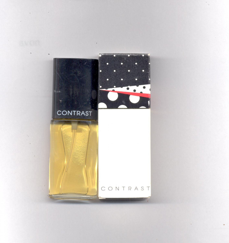 2 Avon Contrast cologne spray