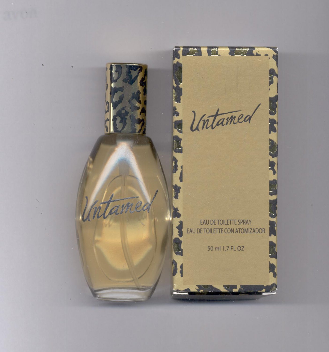 Avon Untamed eau de toilette spray- NOS