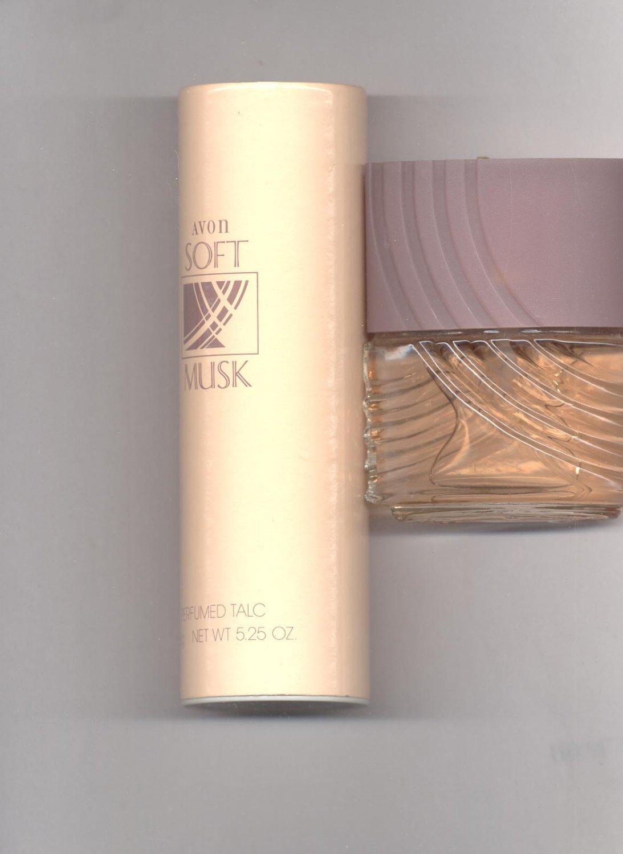 Avon Soft Musk Cologne, talc