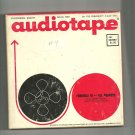 Audiotape -vintage- Formula 10-all purpose 1200 ft. of reel to reel tape used(#4)