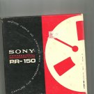 Sony  Professional Recording Tape PR-150-7 reel to reel 1800 feet  tape used (10)