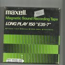 Maxell Magnetic Sound E35-7-  reel to reel 1800 feet  tape used (12)