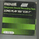 Maxell Magnetic Sound E35-7-  reel to reel 1800 feet  tape used (#16)
