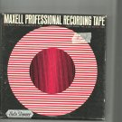 Maxell vintage  Recording tape- -  reel to reel 1800 feet  tape used (#24)
