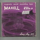 Maxell   Model E25-7 Recording tape- -  reel to reel 2400 feet  tape used (#26)