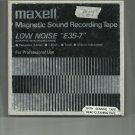 Maxell   Model E35-7 Recording tape- -  reel to reel 1800 feet  tape used (#27)