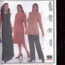 Burda pattern 8577- maternity pants, top, dress, jumper- size 8-20- -  uncut